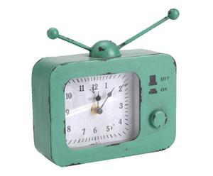 Horloge décorative Métal, Vert - H19