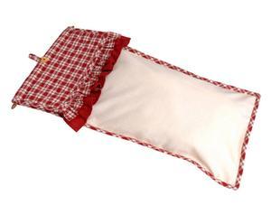 Sac à pain Coton, Rouge et blanc - 66*32