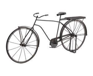 Vélo décoratif Métal, Noir - L70