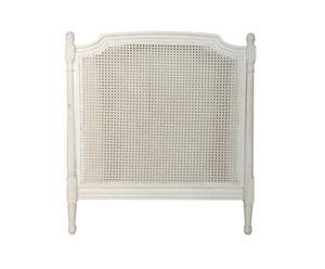 Tête de lit canné, orme - L100