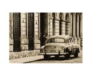 Toile sur Cadre Vintage Car Havana par L. Frost – 80*60