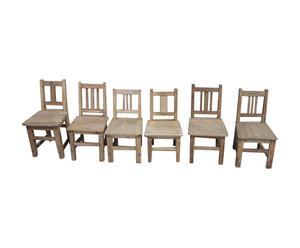 Chaise d'enfant, peuplier - L35