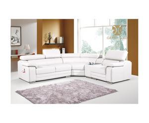 Canapé grand luxe d'angle coté droit