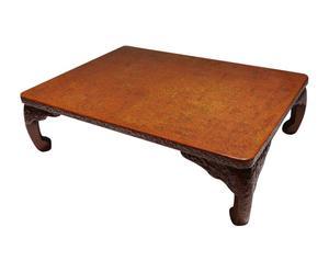 Table basse Laque Wakasa, Marron - L107