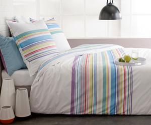 Housse de couette Percale de Coton, Multicolore - 140*200
