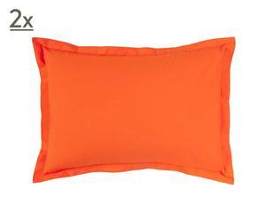 Taie d'oreiller Percale de Coton, Orange  - 50*70