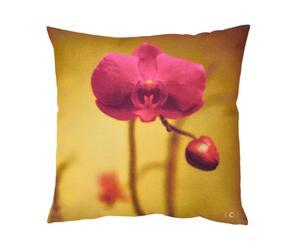 Housse de coussin Orchidée, Coton - 65*65
