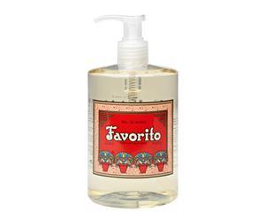 Savon liquide FAVORITO, Coquelicot  - 500mL