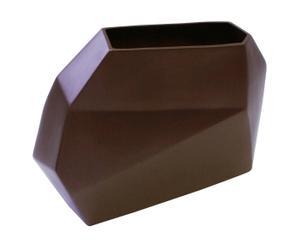 Vase Céramique, chocolat - L35