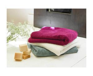 Tapis de bain Coton biologique, Fuchsia - 80*50