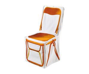 Housse de chaise JEAN Coton, Orange - H88
