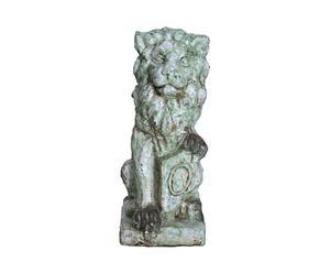 Sculpture lion, Terre cuite - L35