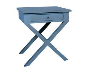 Table d'appoint épicéa, Bleu - L55