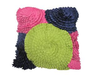 Housse de coussin Taffetas et polyester, Multicolore - 41*41