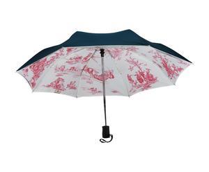 Parapluie Polyester et aluminium, Bleu et rose - Ø95