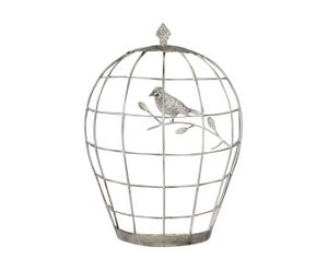 Cage à oiseaux décorative ELISABETH, Métal - H50