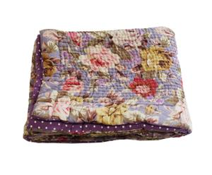 Bout de lit Coton, Multicolore - 90*200