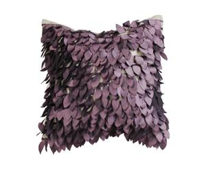 Coussin Taffetas de polyester, Violet - 40*40