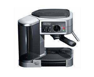 Machine à café, inox - noir
