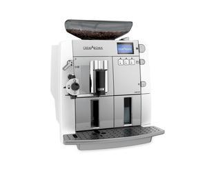 Machine à café, inox - blanc