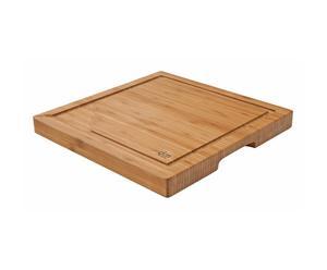 Planche carré Bambou, Naturel - L30