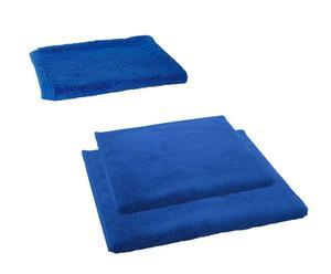Ensemble de bain, Coton - Bleu royal uni