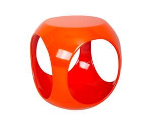 Table basse Plastique, Orange - L40