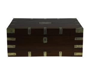Coffre de rangement IV, teck - L46