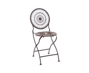 Chaise, Métal - L38