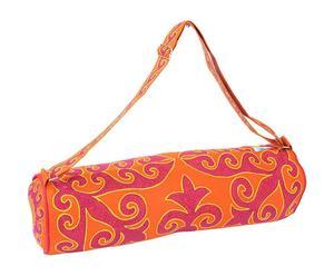 Sac pour tapis de yoga Coton, Orange et rose - L65
