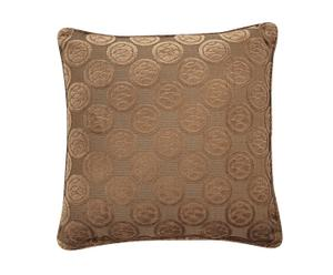 2 Coussins Ramage, Taupe - 50*50