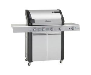 Barbecue Inox, Gris - L158