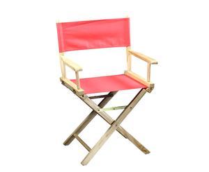 Chaise réalisateur, rouge - H86