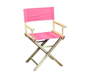 Chaise réalisateur, rose - H86