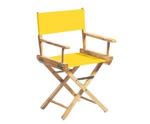 Chaise réalisateur, jaune - H86