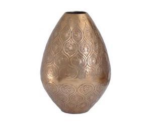 Vase Cuivre, Doré et cuivré - H50