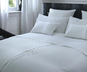 Housse de couette Norma Percale de coton, Blanc - 240*260