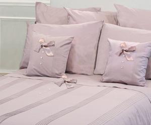 Housse de couette Percale de coton, Rose grisé - 240*260