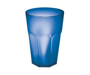 12 Verres, Bleu Anis - Ø6