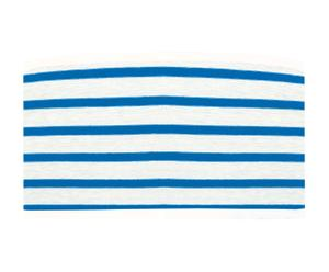 Abat-jour MARIN Bâche, Bleu et blanc - Ø28
