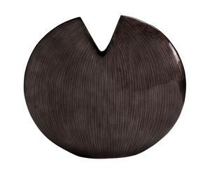 Vase Bois acacia, chocolat - H35