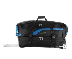 Sac de voyage OXYDA, Nylon - Noir et bleu