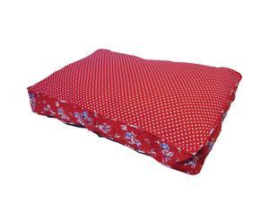 Matelas Coton et polyester, Rouge - L77