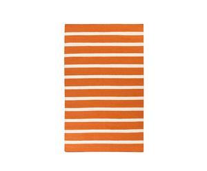 Tapis I Laine, Orange et blanc - 244*153