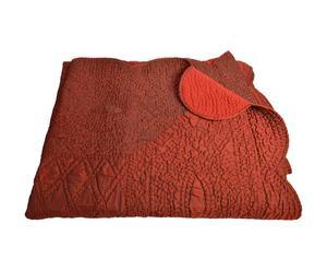 Couvre-lit Coton, Rouge - 250*180