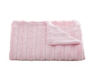 Couvre-lit bébé Channel, rose – 75*75