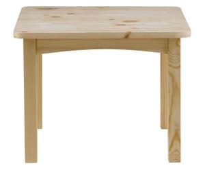 Table enfant Pin brut, Beige - L70