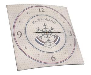 Horloge Métal, Beige - 58*58