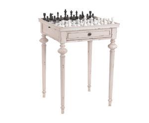 Table d'échecs Mindi, Beige - H72