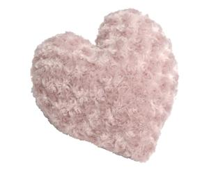 coussin coeur, Rose- 40*40